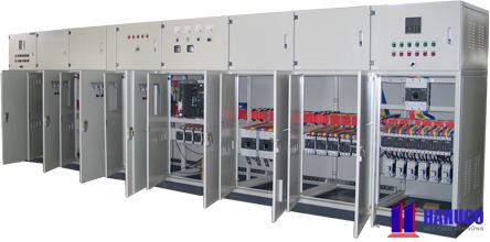 tủ điện phân phối tại Hahuco