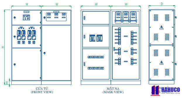hình ảnh tủ điện phân phối HC2