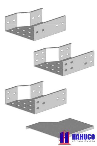Khay cáp ( Cable Tray) nối giảm bên trái