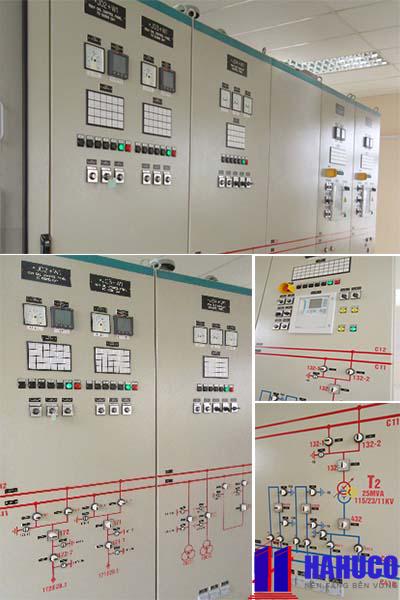 Tủ điều khiển cho trạm 110 KV