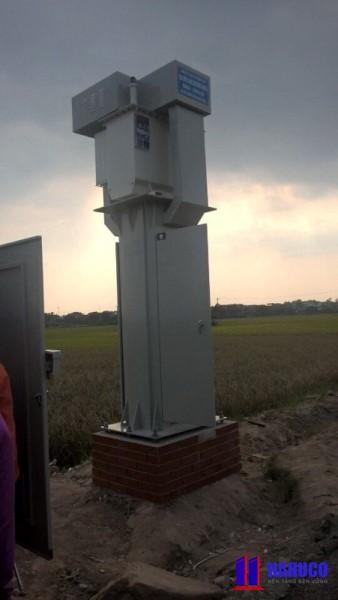Hình ảnh trạm một cột