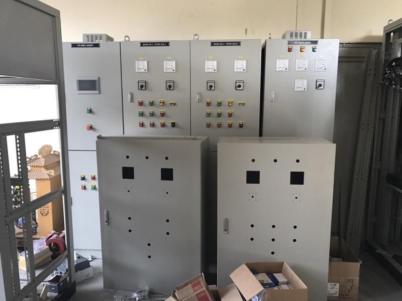 Hình ảnh tủ điện công nghiệp tại hahuco