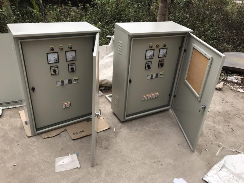 Tủ điện điều khiển tại công ty Hahuco